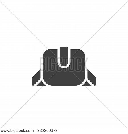 Women Purse Vector Icon. Filled Flat Sign For Mobile Concept And Web Design. Elegant Woman Handbag G