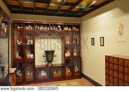 Manila, Ph - Jan 3 - Botica De San Fernando Interior At Chinatown Museum On January 3, 2020 In Manil