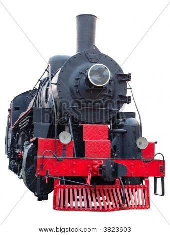 Old (Retro) Steam Engine (Locomotive).