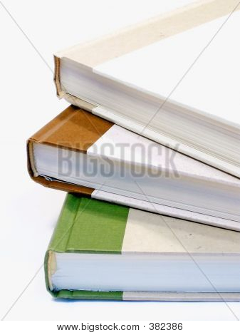 Spiral Stack Of Books