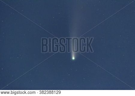 Comet C/2020 F3 Neowise At Vancouver British Columbia Canada