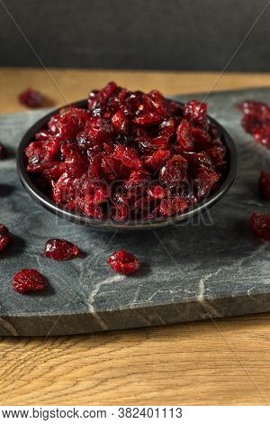Raw Red Organic Dried Cranberries