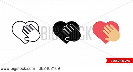 Honesty Icon Of 3 Types Color, Black And White, Outline. Isolated Vector Sign Symbol.