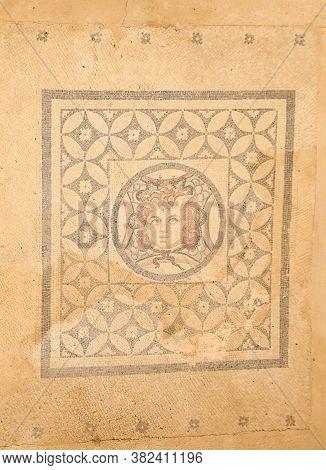 Mosaic Of Dionysus In Terrace Houses In Ephesus Ancient City, Izmir City, Turkey