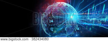 Programming Code Abstract Technology Background Of Software Developer And  Computer Script Banner 3d