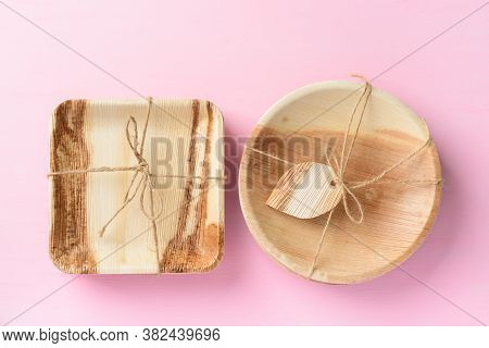 Betel Palm Leaf Plate (biodegradable Plate, Compostable Plate Or Eco Friendly Disposable Plate) On P