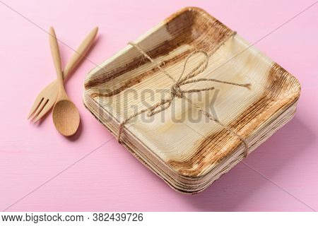 Betel Palm Leaf Plate (biodegradable Plate, Compostable Plate Or Eco Friendly Disposable Plate) With