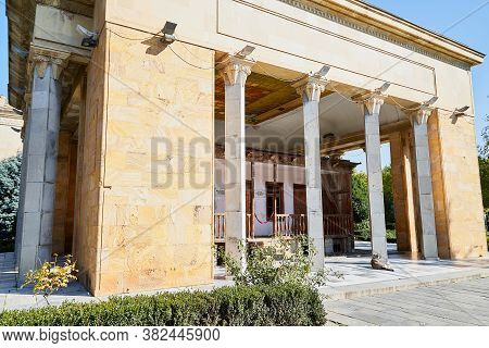 Gori, Georgia - October 22, 2019: The Museum Of The Soviet Unions Dictator And Ruler Stalin And The