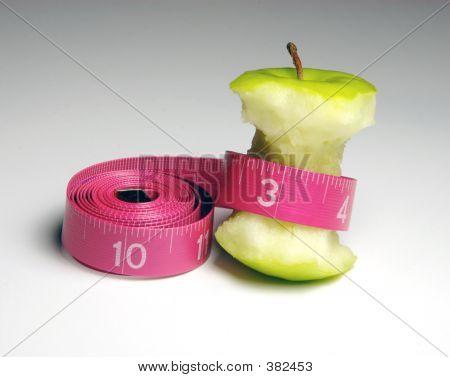 Apple & Tape Measure