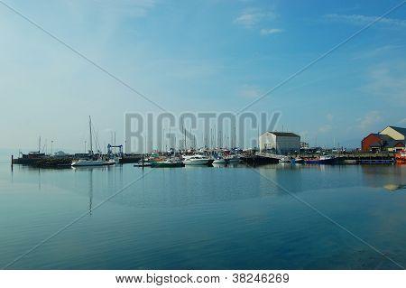Carrickfergus Marina, Belfast, Northern Ireland