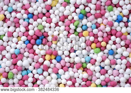 Colorful Eatable Sugar Pearls For Food Decoration