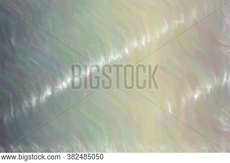 Grey Waves Low Coverage Paste Abstract Paint Background.