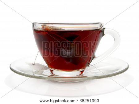 Cup Of Tea With Tea Bag Inside