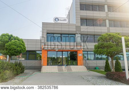 Rzeszow, Poland - June 13, 2020: Nestle Gerber Office. Gerber Products Company Is An American Purvey