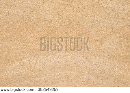 Stone Background In Beige Color With White Streaks. Natural Pattern For Design. Can Be Used For Crea