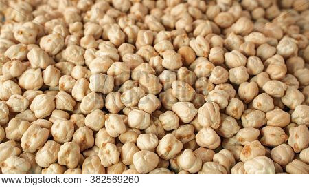 Background Image Of Dried Chic Peas