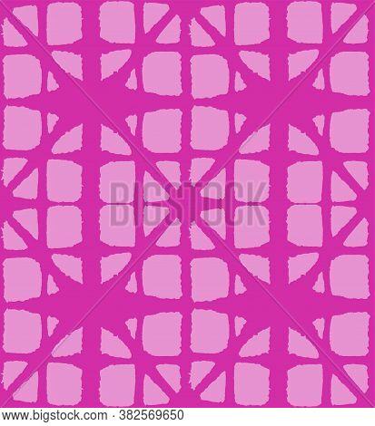 Japanese Tie Dye Seamless Pattern. Glamour Kimono Fabric. Luxurious Japanese Clothes Design. Bohemia