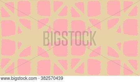 Japanese Tie Dye Seamless Pattern. Bohemian Geometric Asian Tie Dye Print. Deco Shape Curve Design E