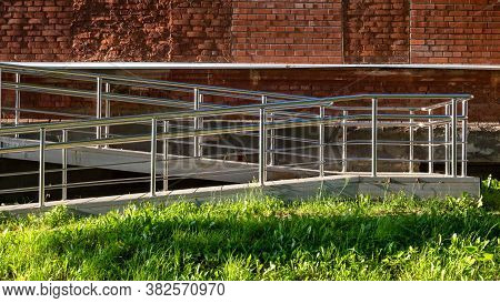 Stainless Steel Handrails Are Installed For Safe Descent.