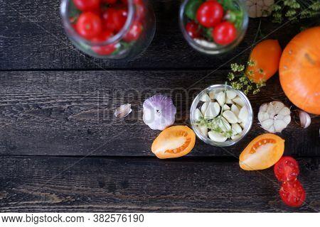 Womans Hands Rolls Glass Preserves With Jars Sealer. Making Homemade Vegetables For Coronavirus Cris