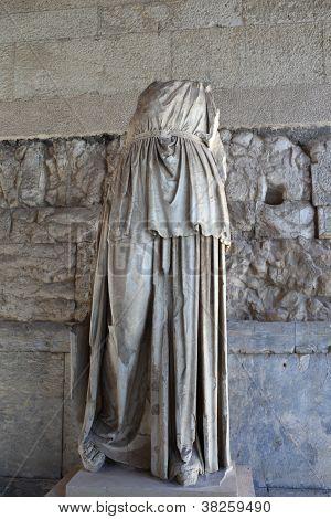 Cult Statue Of Apollo Patroos
