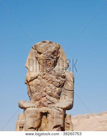 Pharaoh Amenhotep III Statue