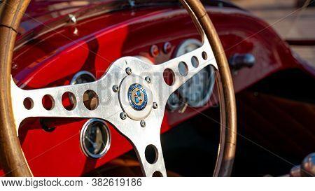 Doha,qatar: 4 March 2020: 1957 Maserati O.s.c.a. Classic Sports Car