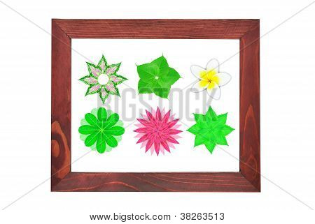 Picture Frame With Flower