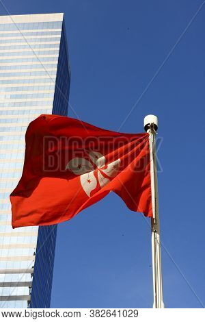2 Aug 2008 The Red Color Of Hong Kong Flag
