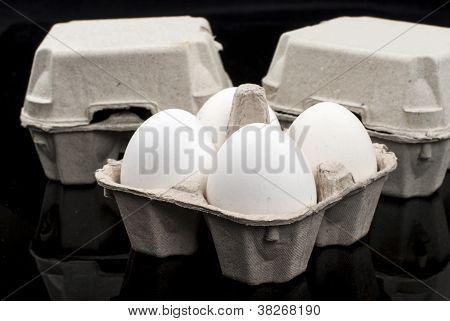 Eggs In Cartoon Box