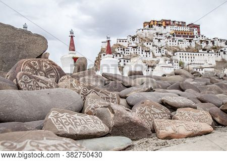Area Of Thiksey Monastery, Thiksey Gompa - Leh Ladakh , Popular Place To See In Leh Ladakh India.