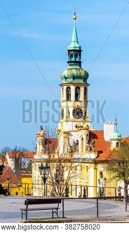 Loreto, Czech: Loreta, Marian Pilgrimage Site With The Baroque Church Of The Nativity In Hradcany, P