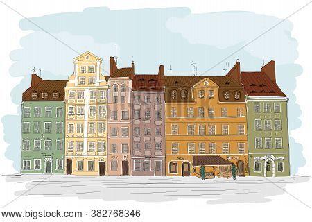 An Old European City.