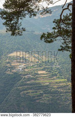 Cityscape Of Cortals De Sabater In Sant Julia De Loria, Andorra.