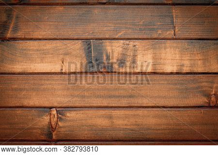 Wood Table Top View. Timber Plank Surface Wall For Vintage Grunge Wallpaper. Old Floor Wooden Patter