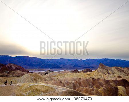 Mountainous Landscape in Death Valley
