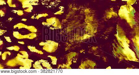 Cheetah Skin Print. Bronze African Animal Set. Brown Abstract Leopard. Skin Abstract Cat. Brown Afri