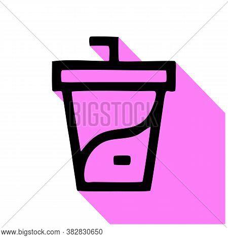 Soda Vector Icon. Soda Editable Stroke. Soda Linear Symbol For Use On Web And Mobile Apps, Logo, Pri
