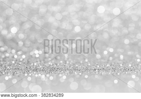 Light Grey,white Bokeh,circle Abstract Light Background,grey,white Shining Lights, Sparkling Glitter