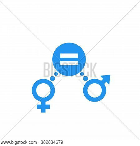 Gender Equity Icon, Vector Sign, Eps 10 File, Easy To Edit