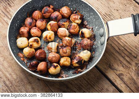 Unshelled Fried Hazelnut