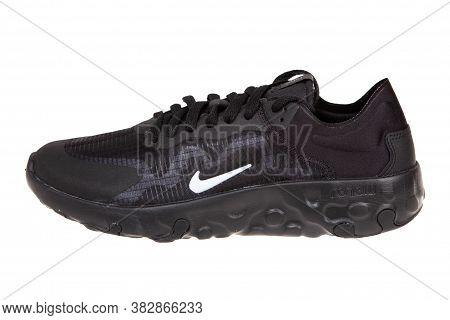 Varna, Bulgaria Studio Shot - March 3, 2020 : Nike Renew Lucent Sport Shoe, Isolated On White, Produ