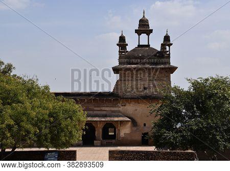 Gwalior, Madhya Pradesh/india : March 15, 2020 - Vikram Palace In Gwalior Fort