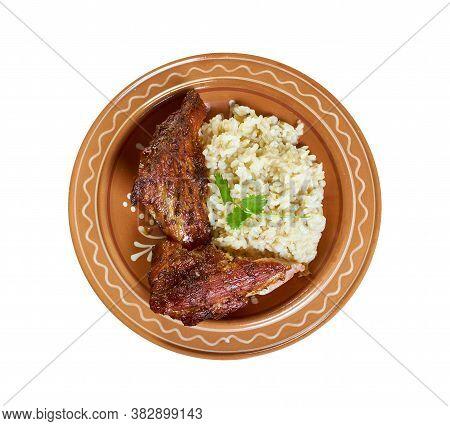 Mexican Rice With Chipotle Pork, Tenderloin Recipe Grilled Pork Tenderloin In Marinade With Chipotle