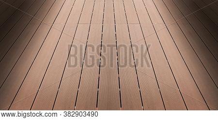 Artficial Hard Wood Floor For Outdoor Pool And Garden To Walk