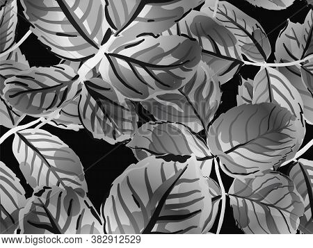 Repeated Spring Peony Wallpaper. Romantic Botanical Vector Background. Summer Textile Design. Painte