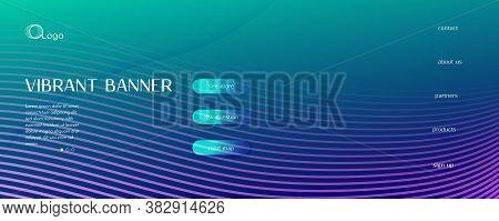 Blue Dynamic Wave. Fluid 3d Elements. Vector Futuristic Line. Dynamic Wave. Vibrant Texture. Flow Fl