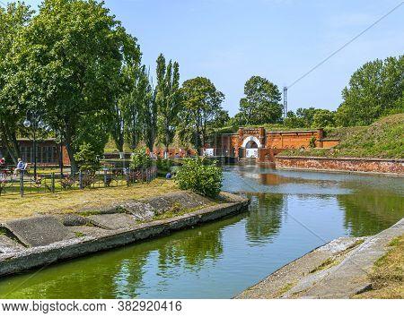 Kaliningrad, Russia - July 27, 2019: Fort 11 - Graf Doenhoff, Is The Best Preserved World War Ii For