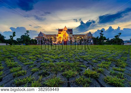 Phitsanulok, Thailand - July 7,2020:court Of Thai King