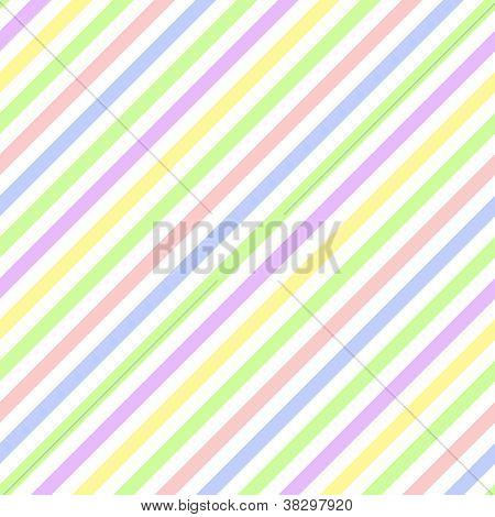 Seamless Pastel Diagonal Stripe